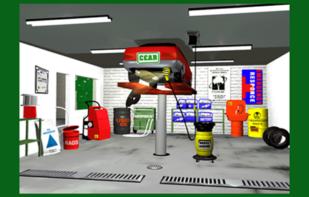 Virtual Automotive Repair Shop